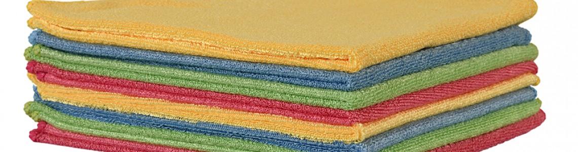Mikrofiber Temizlik Bezleri Hangi Alanlarda Kullanılıyor