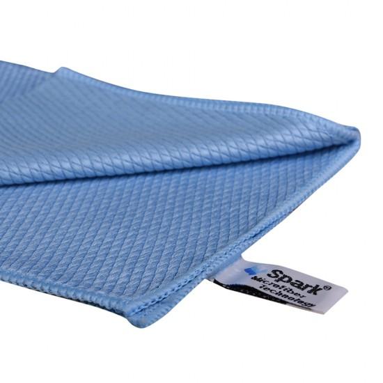 Spark Mikrofiber Cam Bezi Mavi 50 x 70 CM