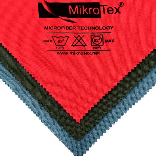 Mikrotex Mikrofiber Cam Bezi Kırmızı 40 x 50 CM