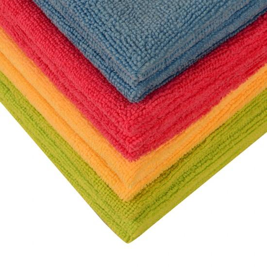 Spark Ekonomik Genel Temizlik Bezi 12 Adet Çok Renkli 40 x 40 CM