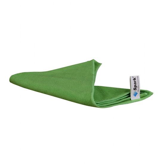 Spark Mikrofiber Genel Temizlik Bezi Yeşil 40 x 40 CM